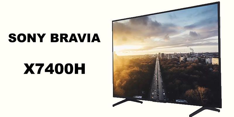 sony bravia x7400h uhd tv price